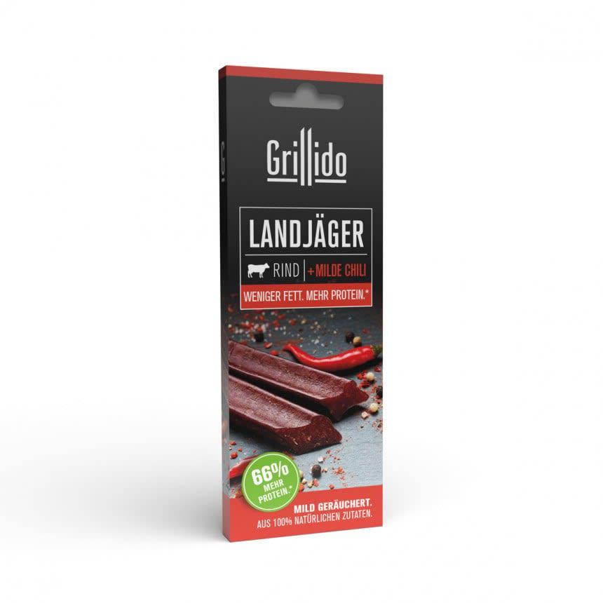 Grillido Landjägerwurst Rind & Chilli