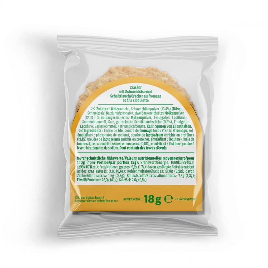 WW Käse Cracker mit Protein 5er Pack 3