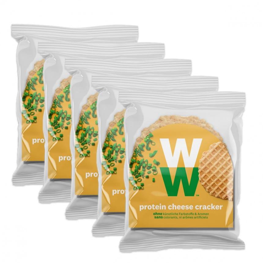 WW Käse Cracker mit Protein 5er Pack