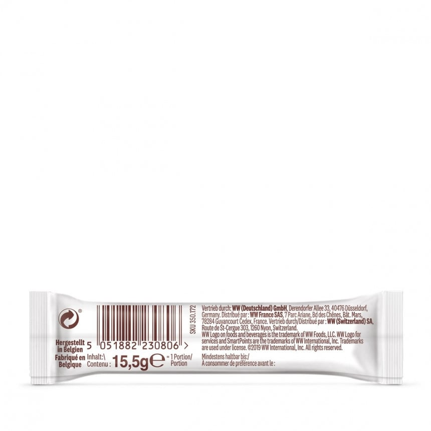 WW Belgischer Riegel Milchschokolade 5er Pack 3