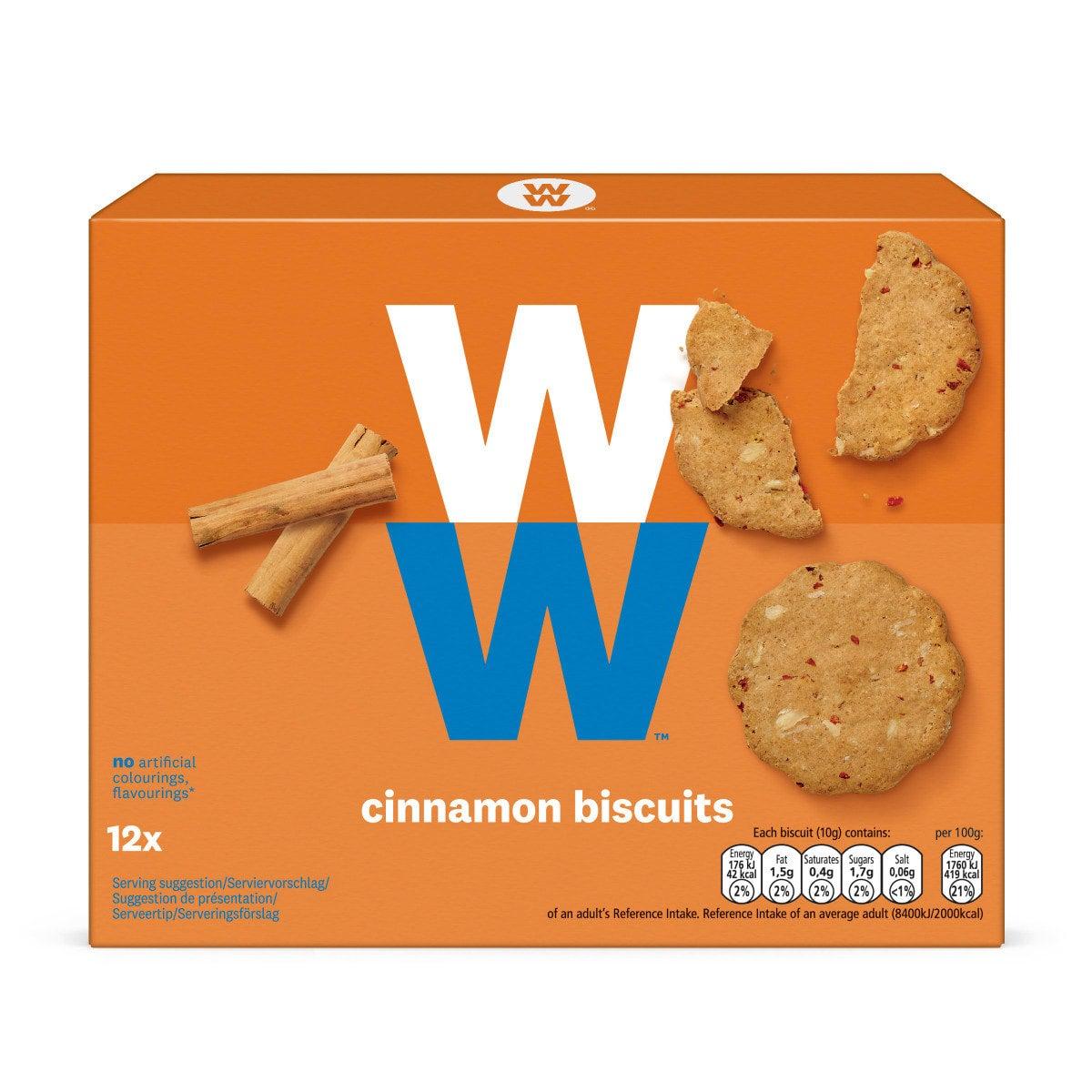 WW Kekse mit Zimt