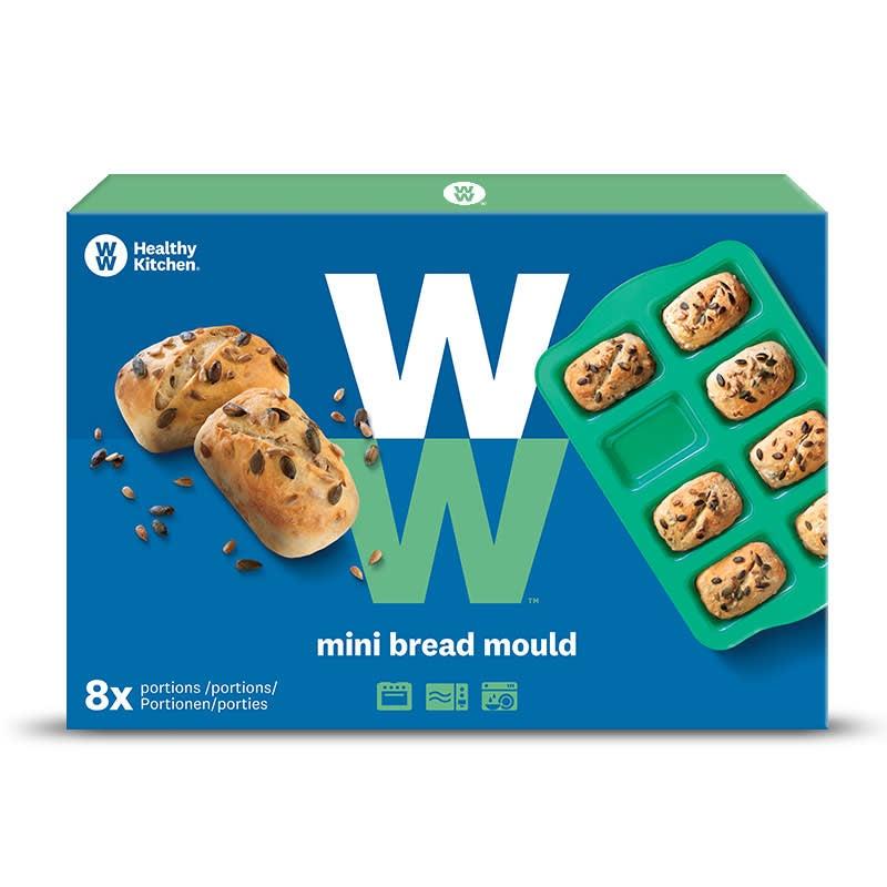 Brot-Backform Verpackung blau
