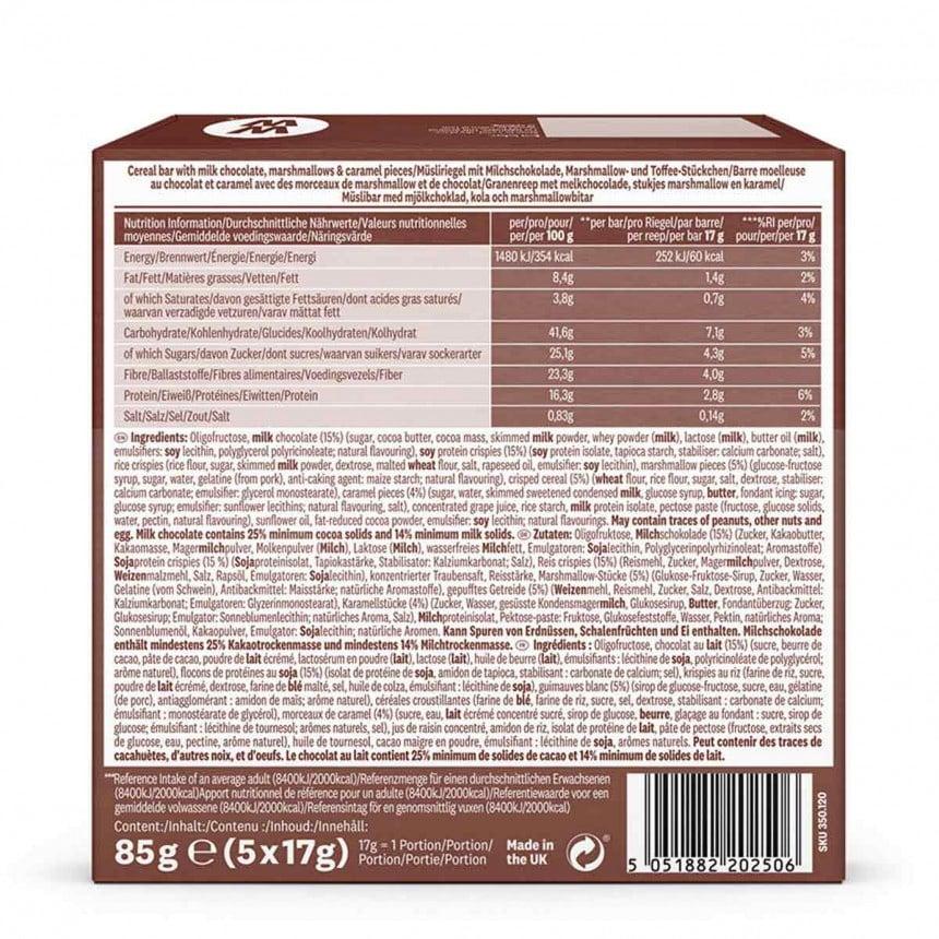 WW Barre de céréales chocolat et caramel 3