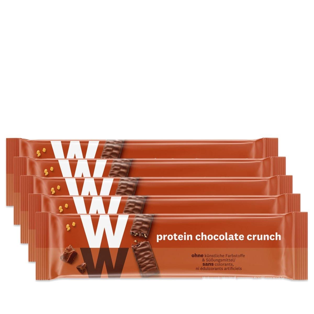WW Proteinriegel mit Schokolade 5er Pack