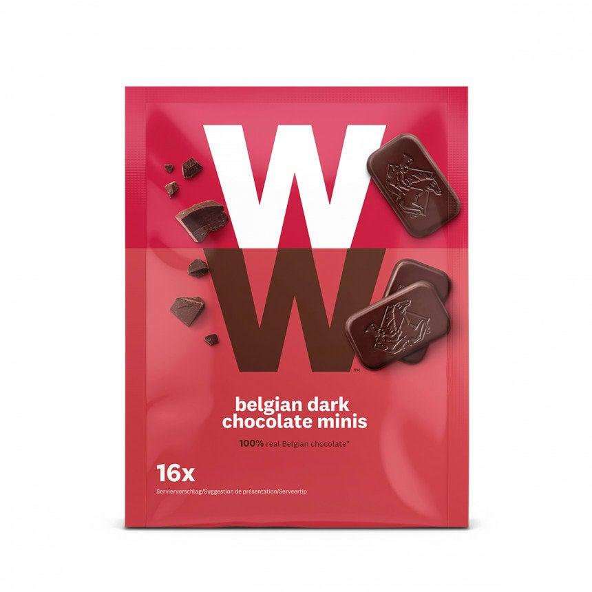 WW Zartbitterschokolade mini