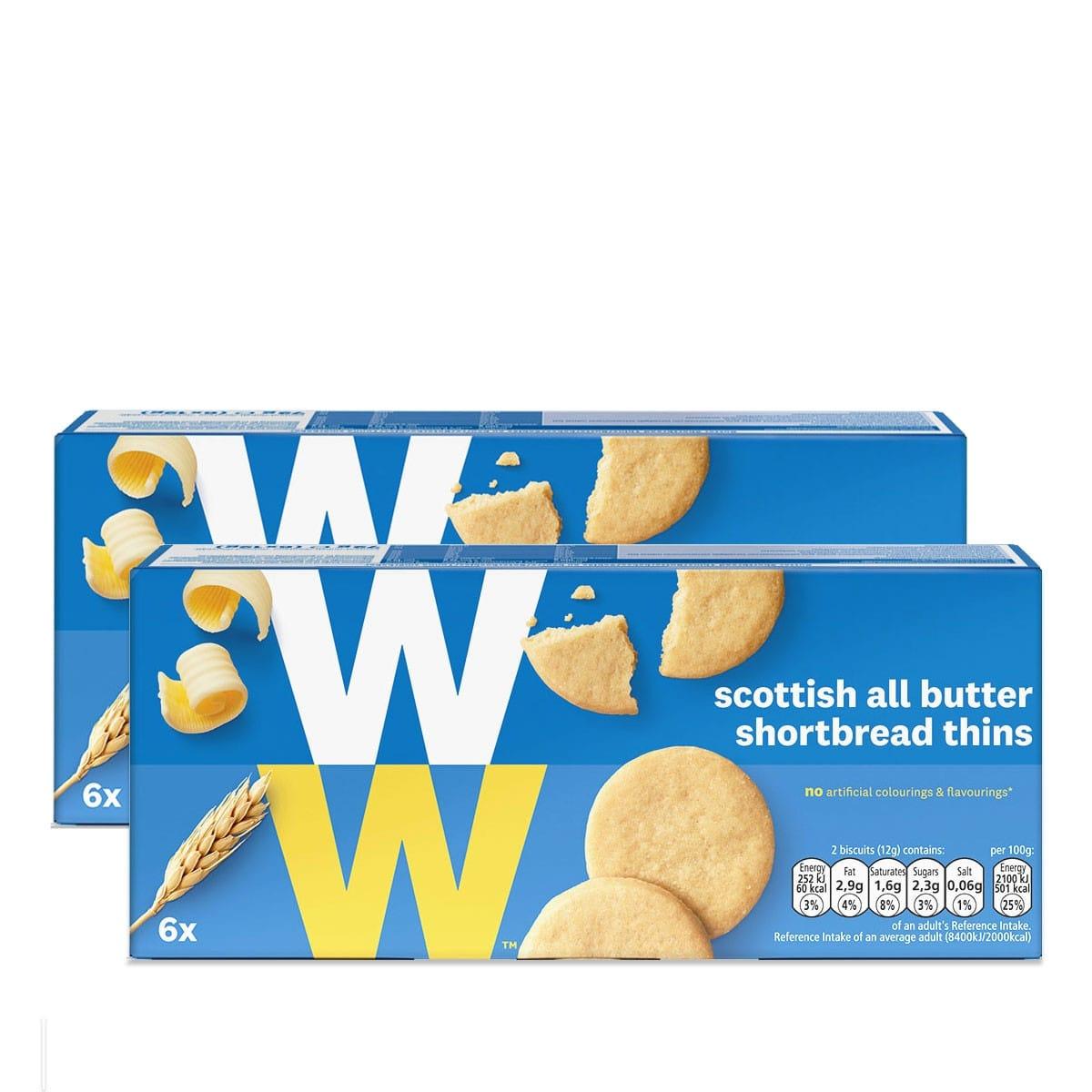 WW Schottische Butterkekse Doppelpack