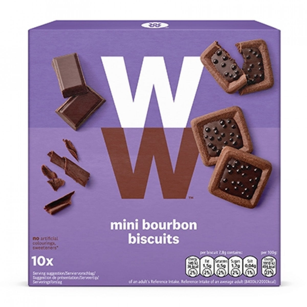 WW Kekse mit Kakaocreme
