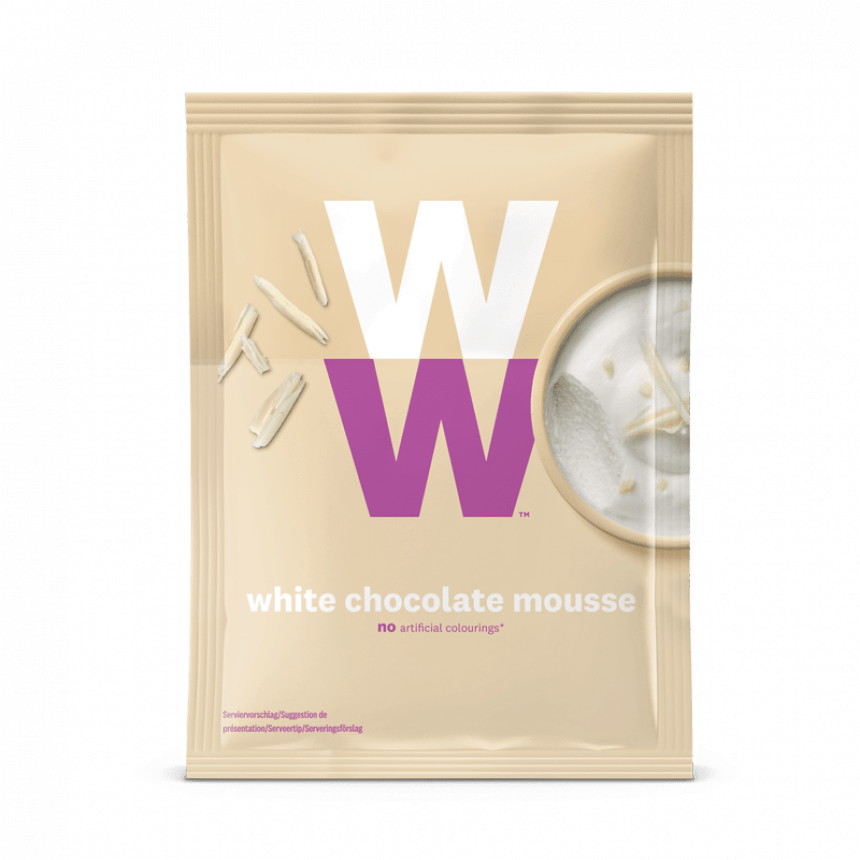 WW weißes Schokoladen-Mousse