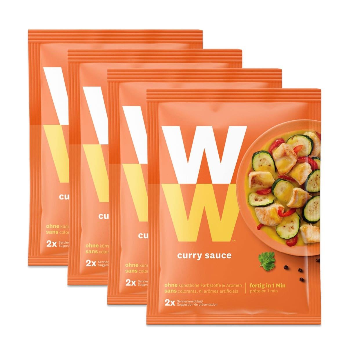 WW Curry Sauce für Fleisch und Gemüse - 4 für 3