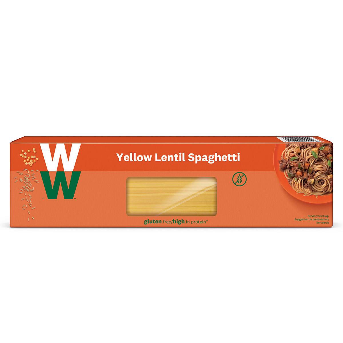 Yellow Lentil Spaghetti Front