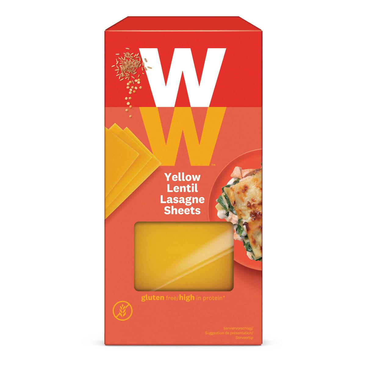 WW Lasagneblätter aus Linsen