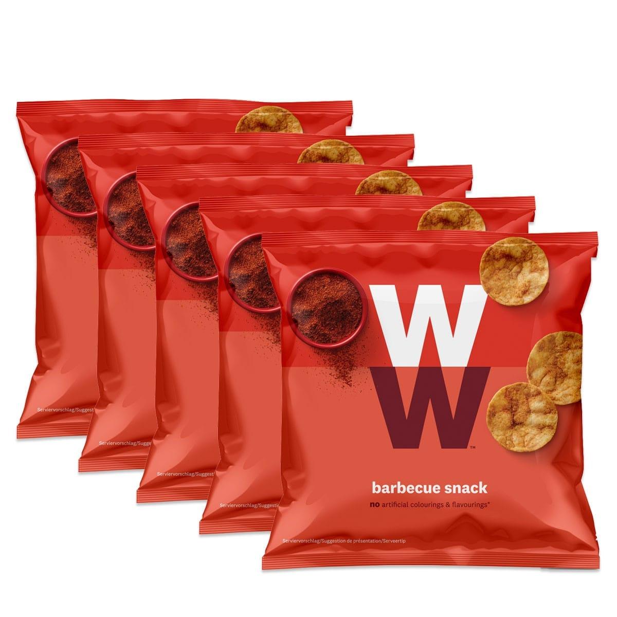 WW Barbecue-Chips mit Kichererbsen & Soja 5er Pack