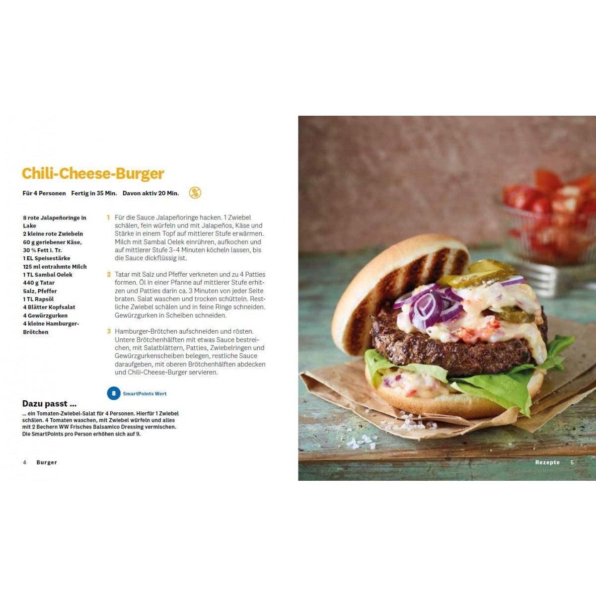 """WW Kochbuch """"Burger"""", #2 Quickies (20 Rezepte) 3"""