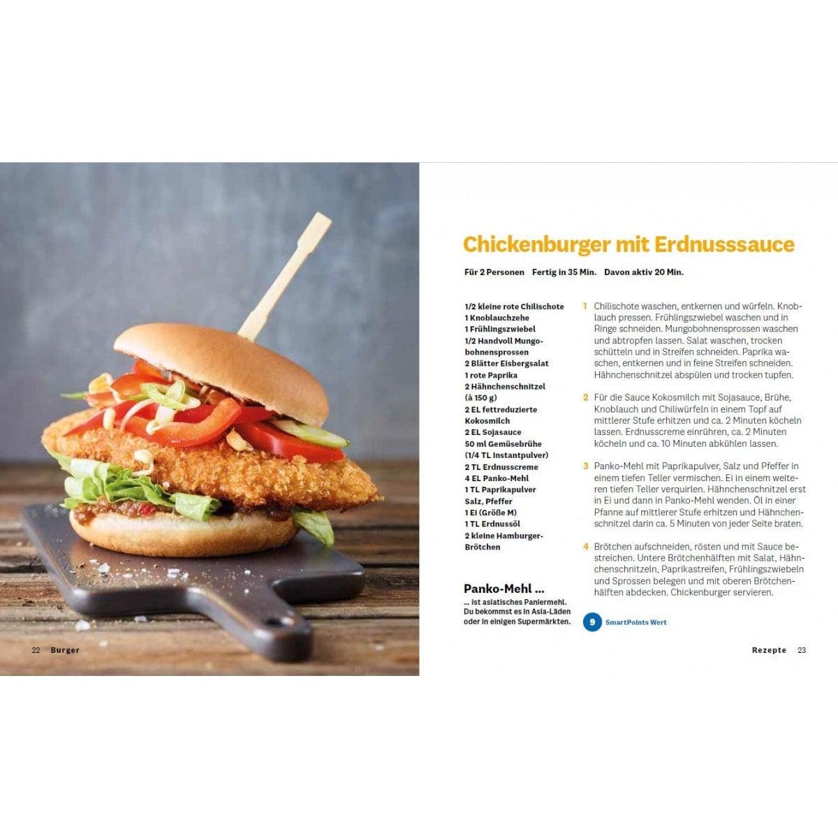 """WW Kochbuch """"Burger"""", #2 Quickies (20 Rezepte) 2"""