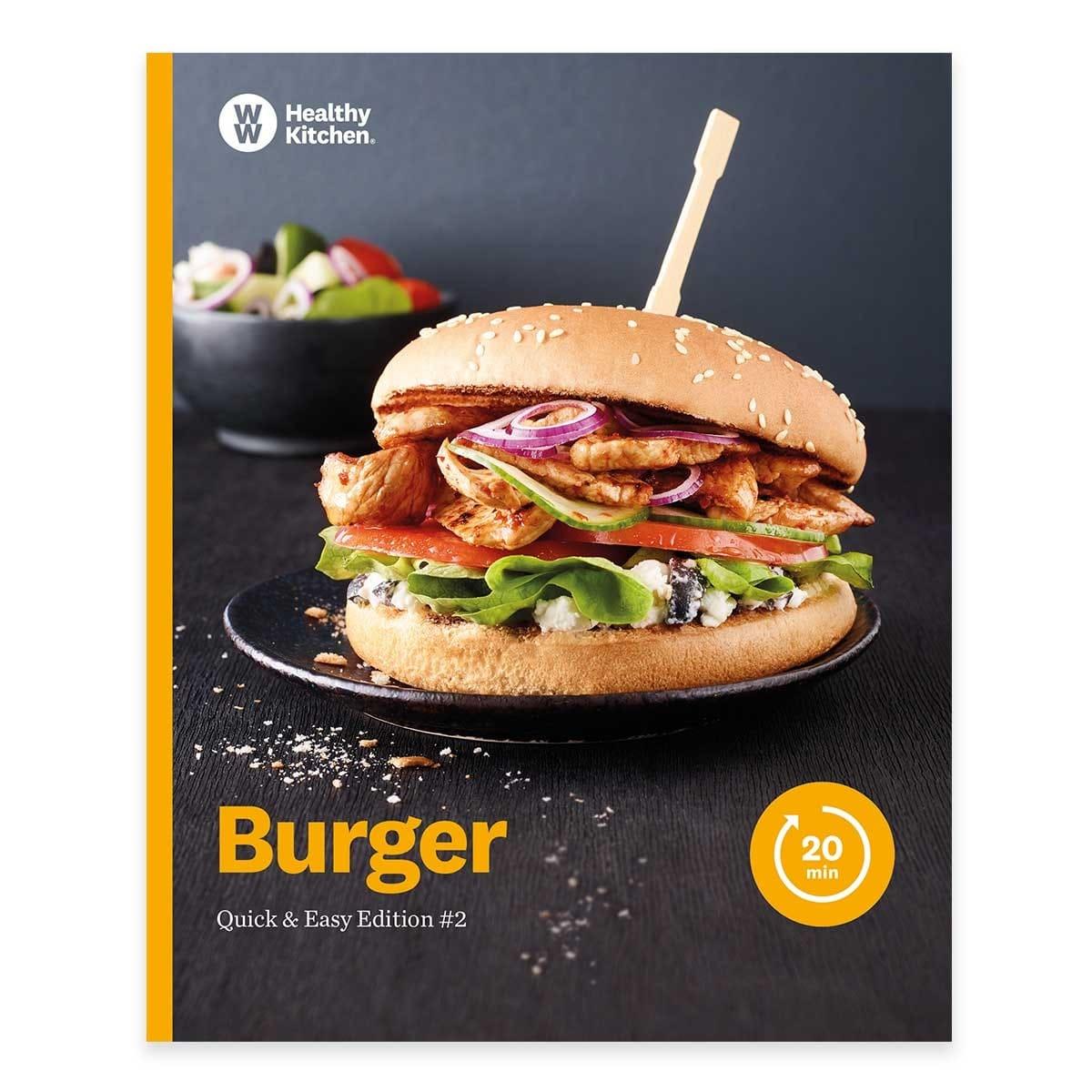 """WW Kochbuch """"Burger"""", #2 Quickies (20 Rezepte)"""