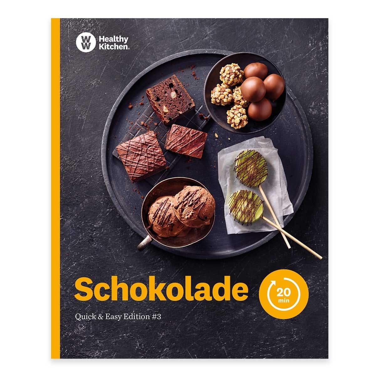 "WW Kochbuch ""Schokolade"", #3 Quickies (20 Rezepte)"