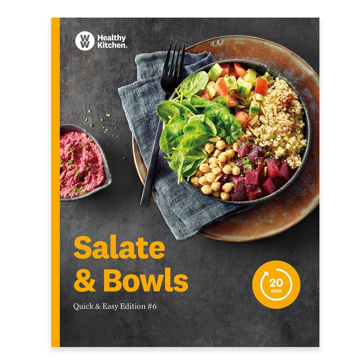 """WW Kochbuch """"Salate & Bowls"""", #6 Quickies (20 Rezepte)"""