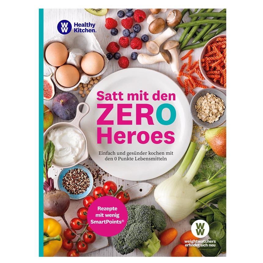 "WW Kochbuch ""Satt mit den Zero Heroes"" (70 Rezepte)"