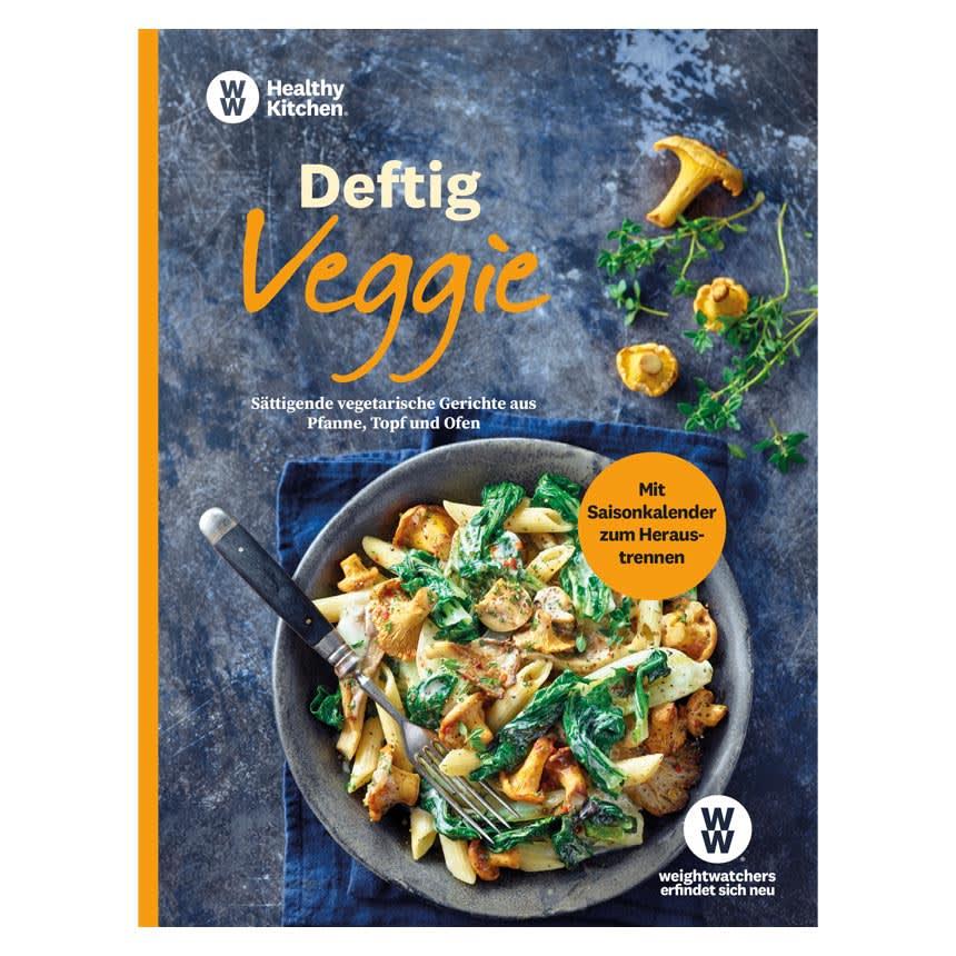 """WW Kochbuch """"Deftig Vegetarisch"""" (54 Rezepte)"""