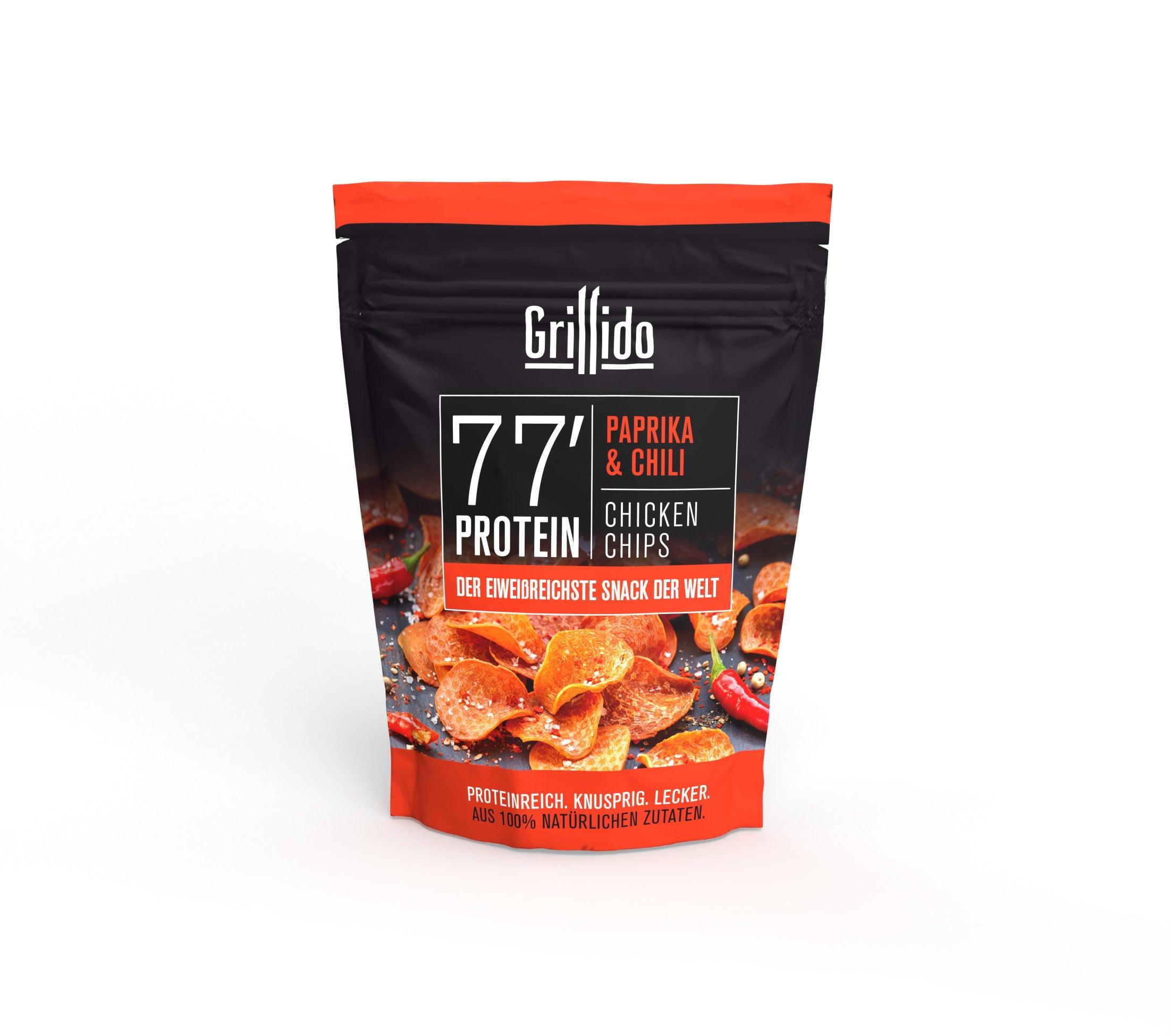 Grillido Chips Hähnchen mit Paprika & Chili