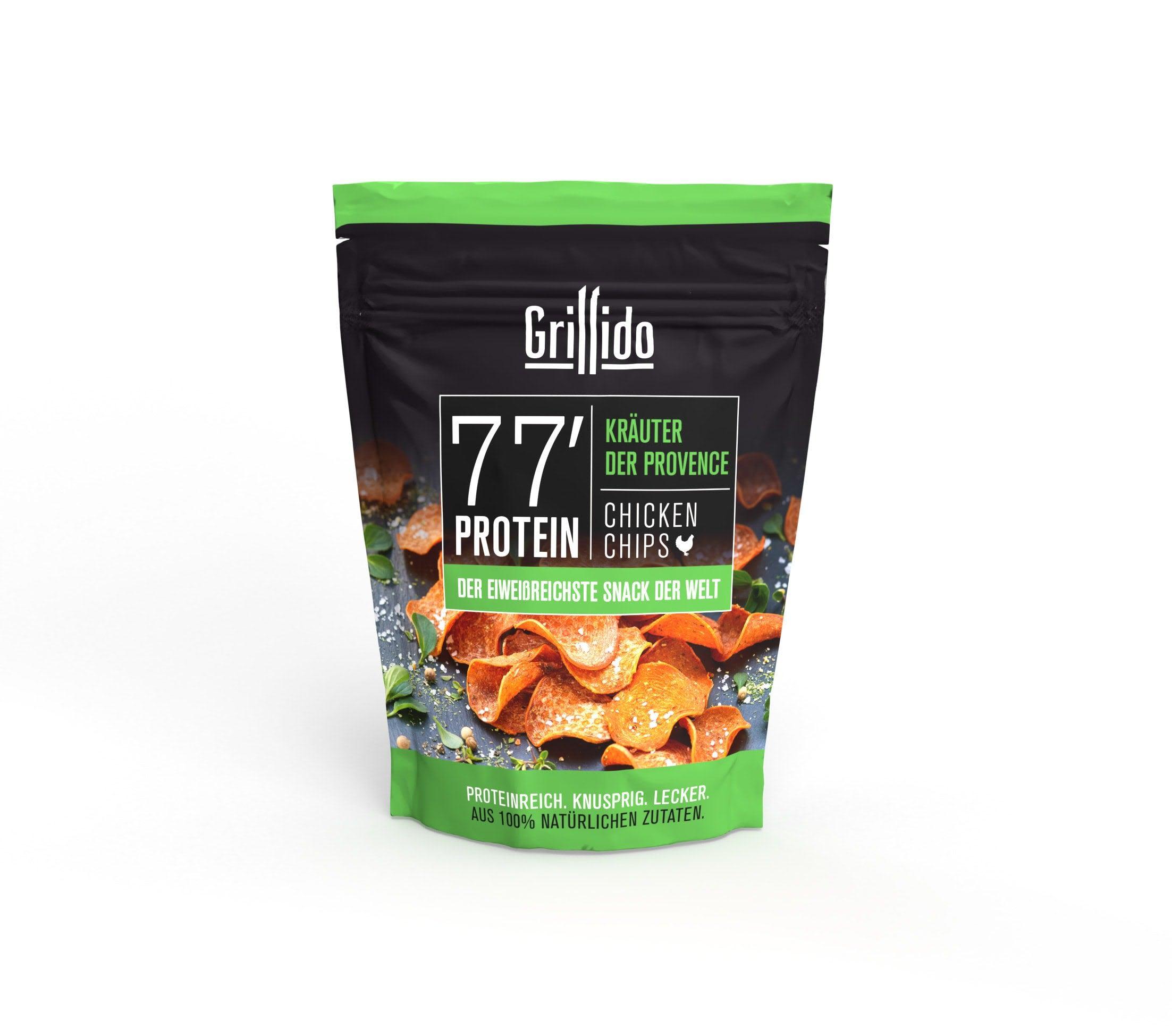 Grillido Chips Hähnchen mit Kräuter der Provence