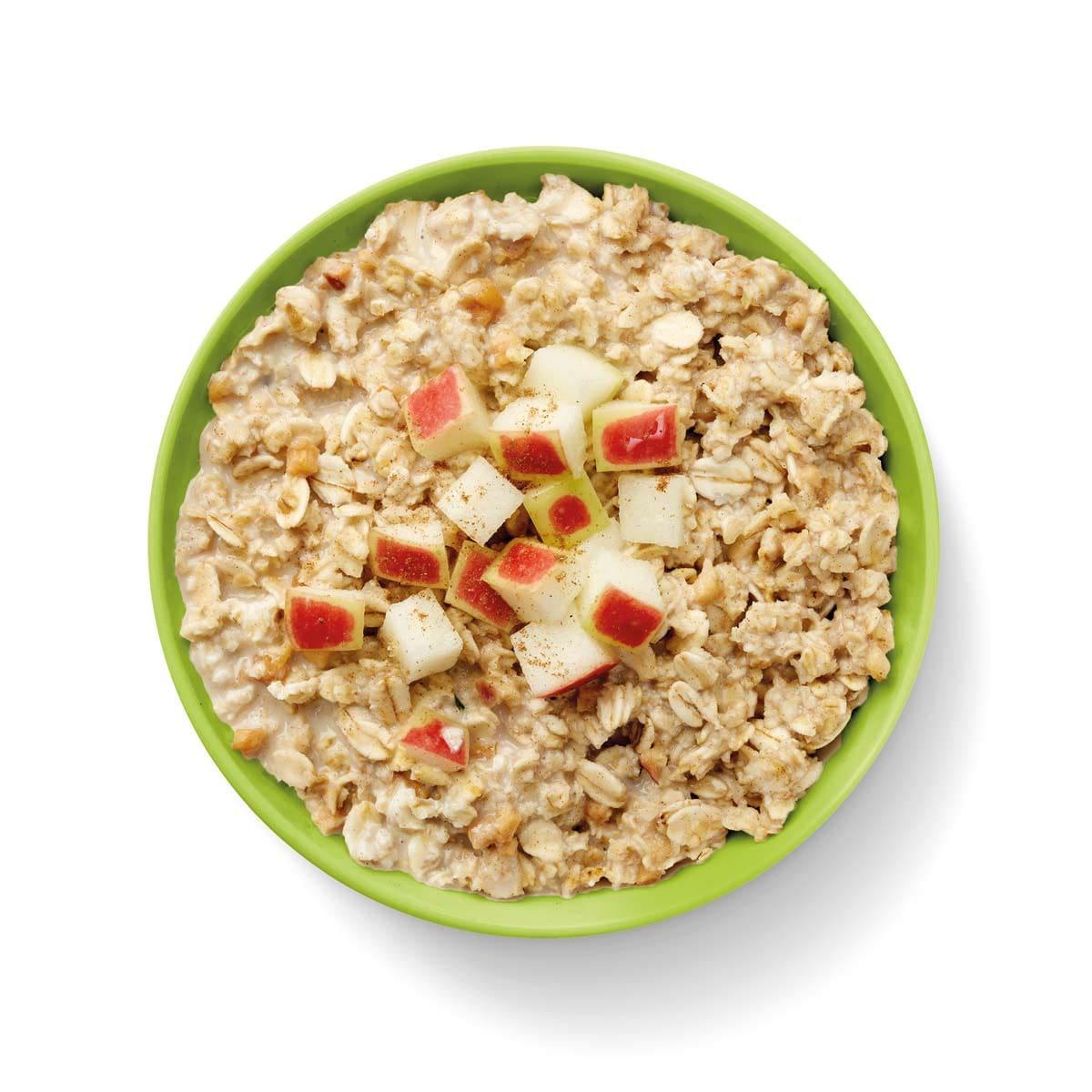 WW Porridge mit Äpfeln und Zimt 4