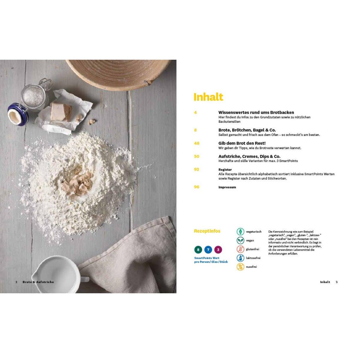 """WW Kochbuch """"Brote & Aufstriche"""" (39 Rezepte) 2"""