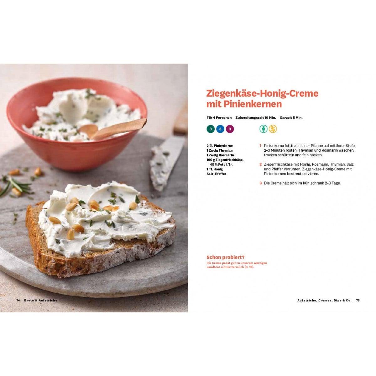 """WW Kochbuch """"Brote & Aufstriche"""" (39 Rezepte) 6"""