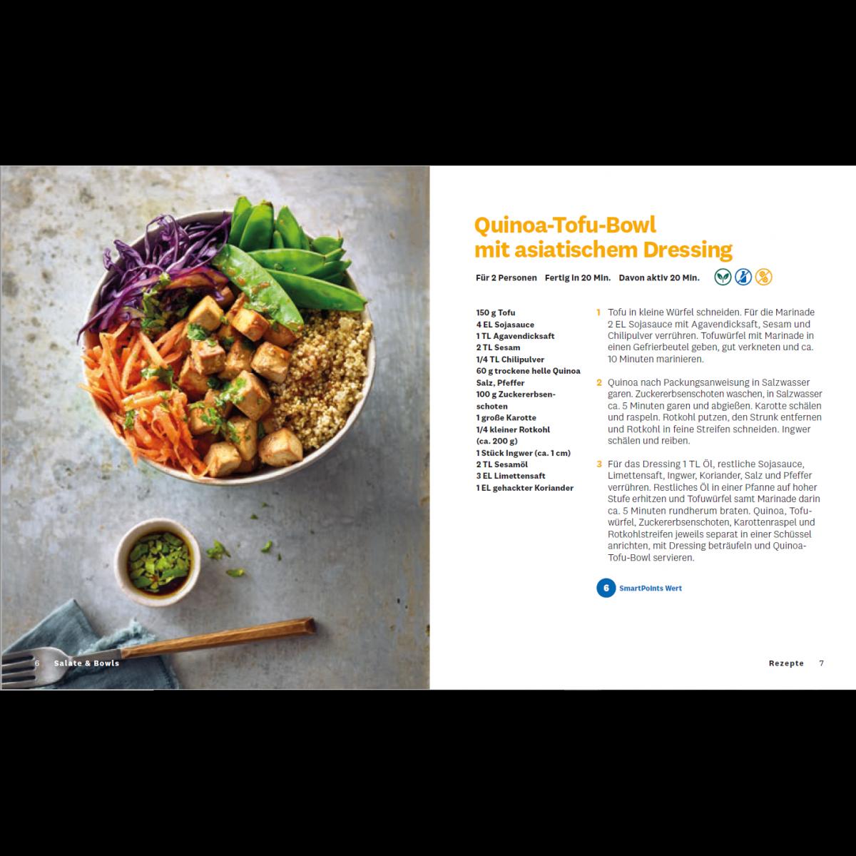 """WW Kochbuch """"Salate & Bowls"""", #6 Quickies (20 Rezepte) 2"""