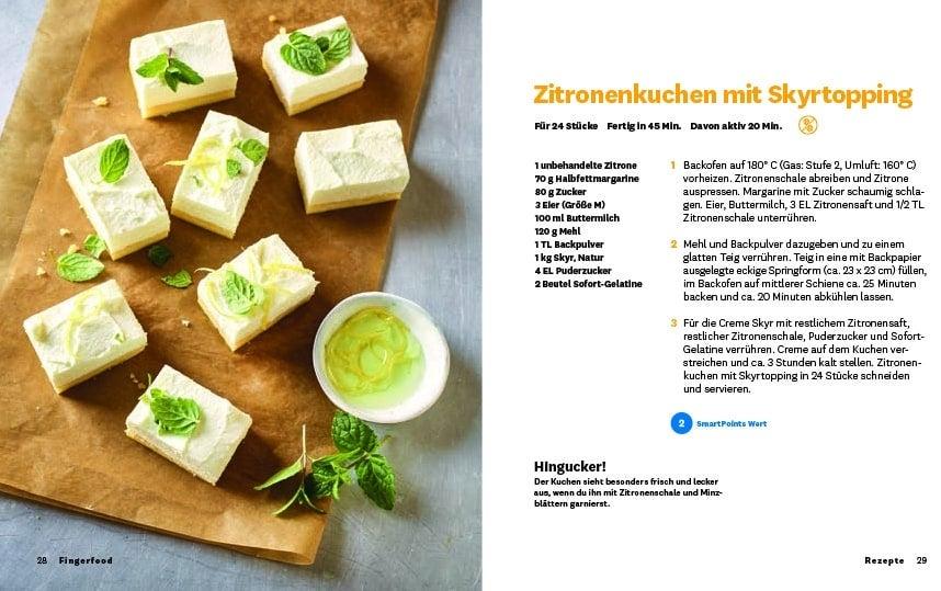 """DE: WW Kochbuch """"Fingerfood"""", #1 Quickies (20 Rezepte) 1"""