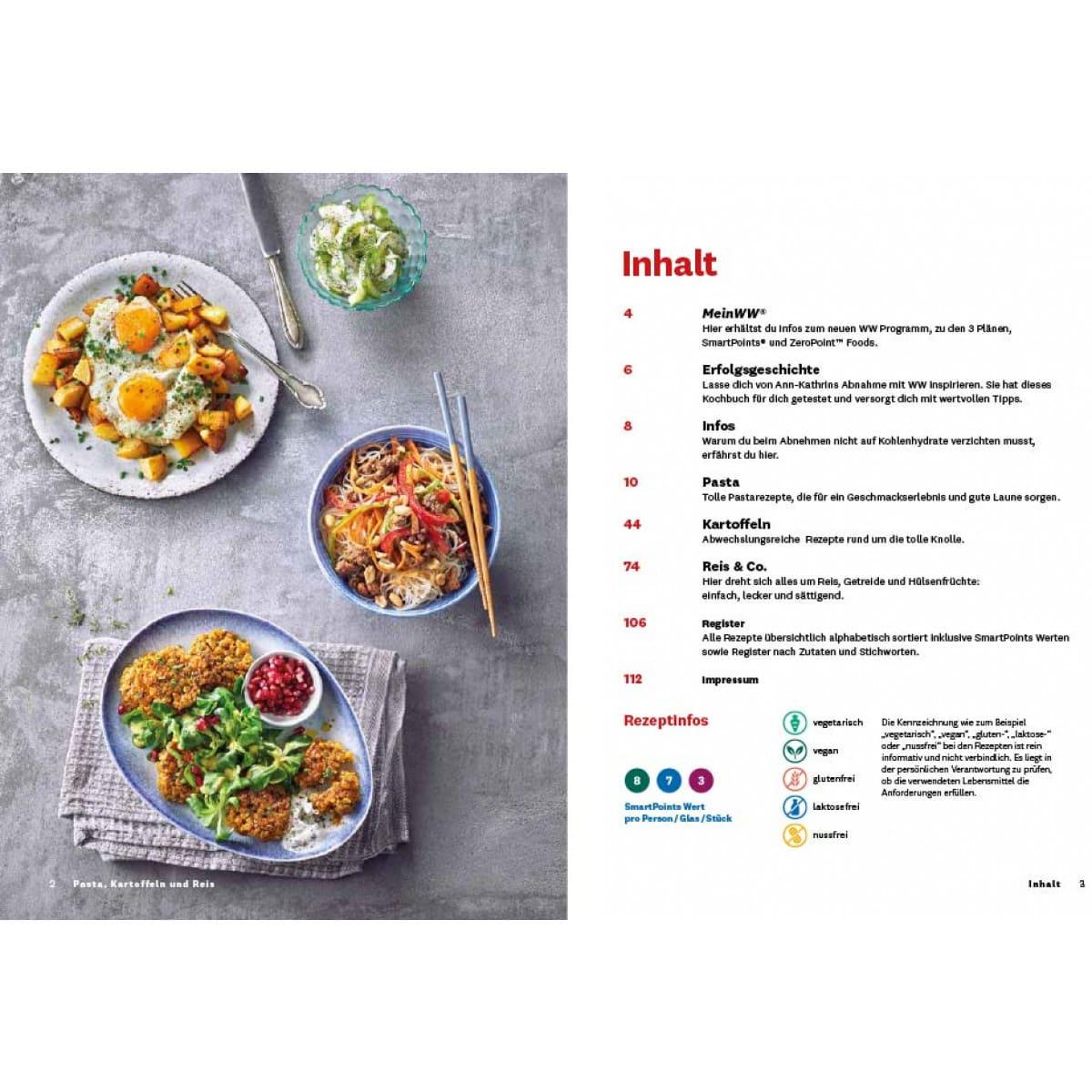 WW Kochbuch Pasta, Kartoffeln und Reis (56 Rezepte) 4