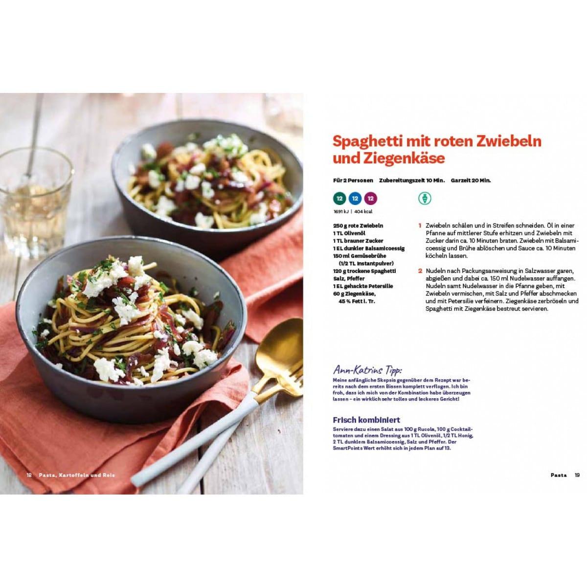 WW Kochbuch Pasta, Kartoffeln und Reis (56 Rezepte) 3