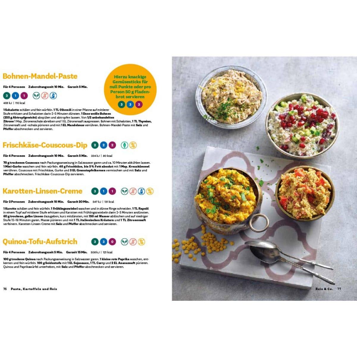 WW Kochbuch Pasta, Kartoffeln und Reis (56 Rezepte) 5