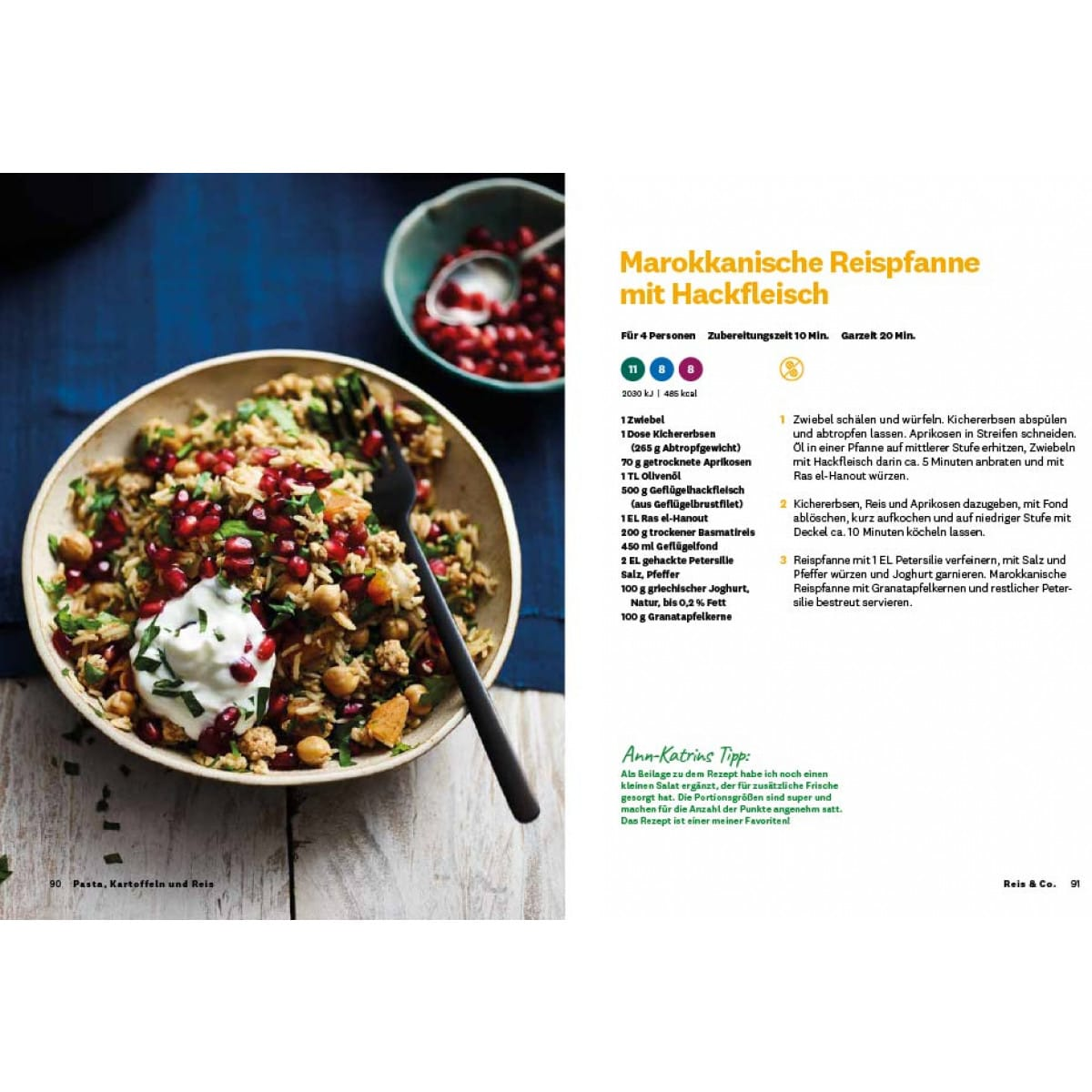 WW Kochbuch Pasta, Kartoffeln und Reis (56 Rezepte) 2