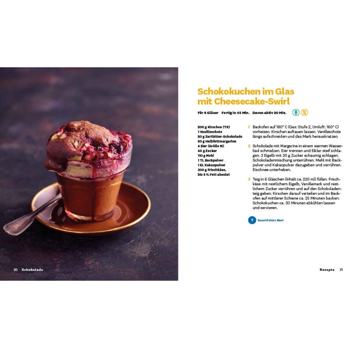 "WW Kochbuch ""Schokolade"", #3 Quickies (20 Rezepte) 3"