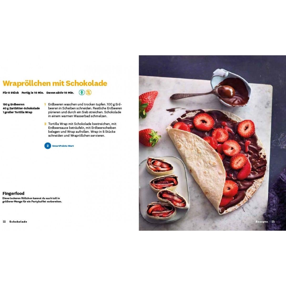 "WW Kochbuch ""Schokolade"", #3 Quickies (20 Rezepte) 5"