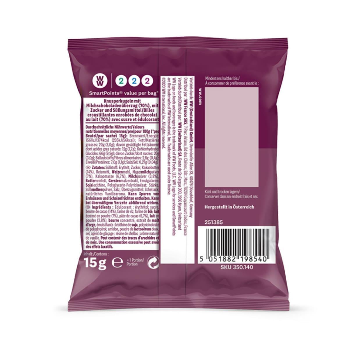WW Knusperkugeln mit Schokolade 2
