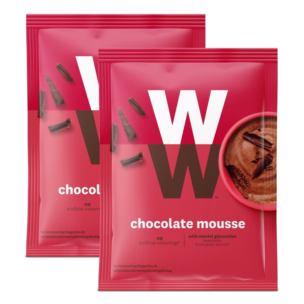 WW Schokoladenmousse Doppelpack