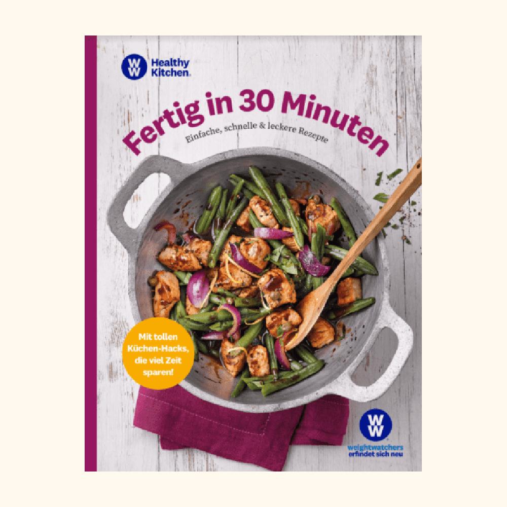 """WW Kochbuch """"Fertig in 30 Minuten"""" (73 Rezepte)"""