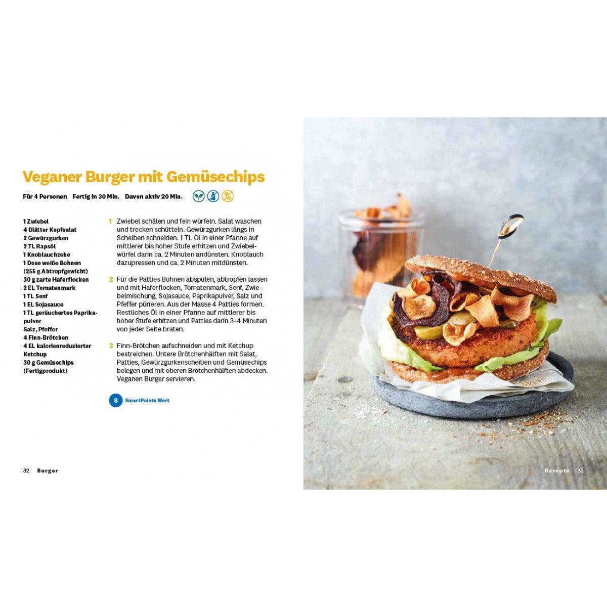 """WW Kochbuch """"Burger"""", #2 Quickies (20 Rezepte) 5"""