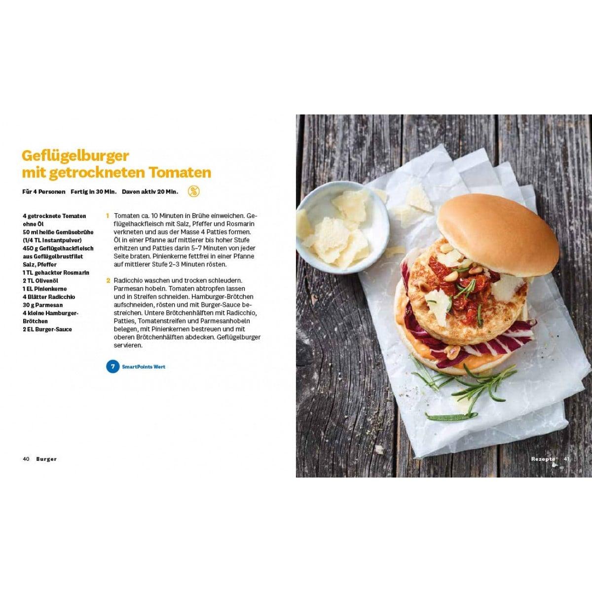 """WW Kochbuch """"Burger"""", #2 Quickies (20 Rezepte) 4"""