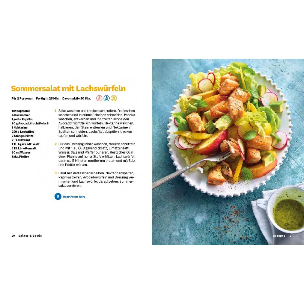"""WW Kochbuch """"Salate & Bowls"""", #6 Quickies (20 Rezepte) 4"""