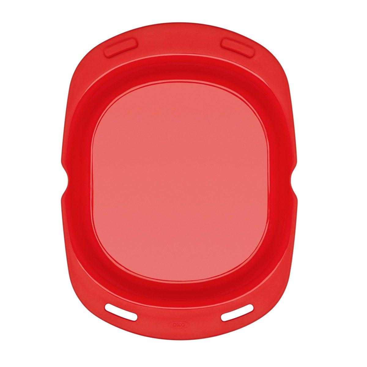 Oxo Omelette Maker, rouge, vue d'en haut 3