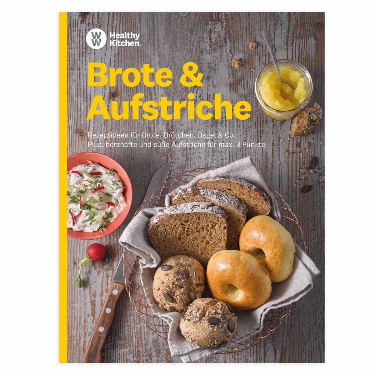 """WW Kochbuch """"Brote & Aufstriche"""" (39 Rezepte)"""