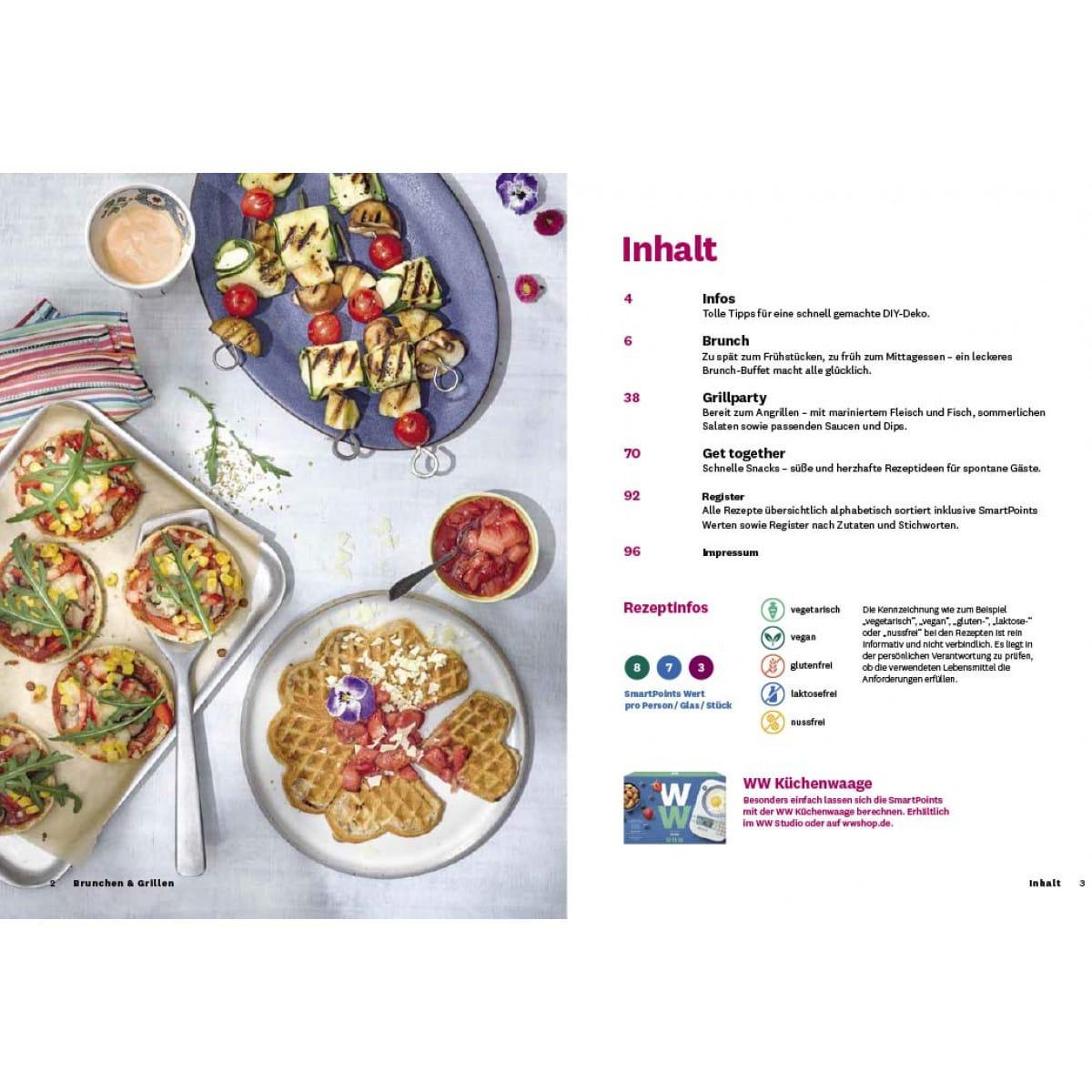 WW Kochbuch Brunchen & Grillen (40 Rezepte) 5