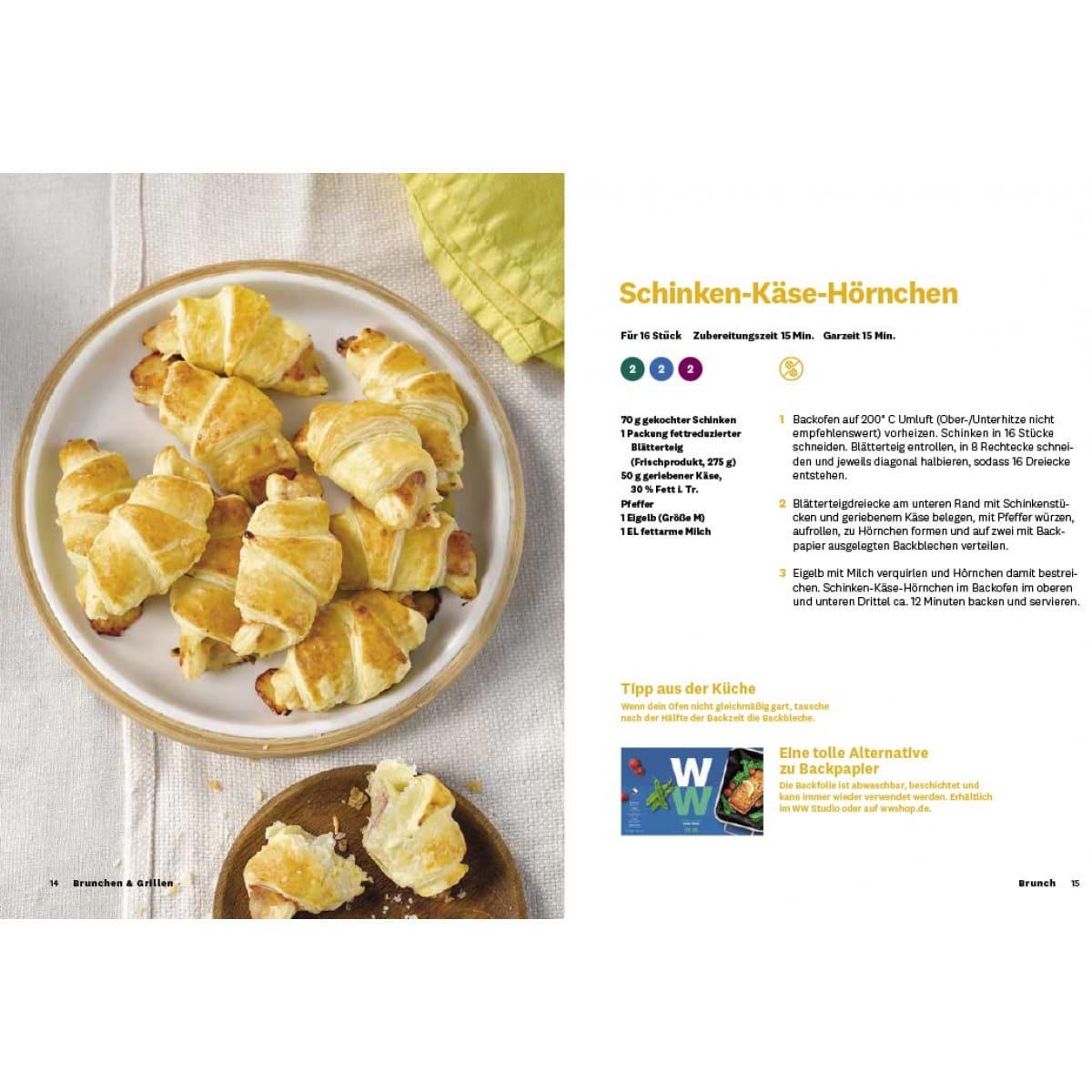 WW Kochbuch Brunchen & Grillen (40 Rezepte) 1