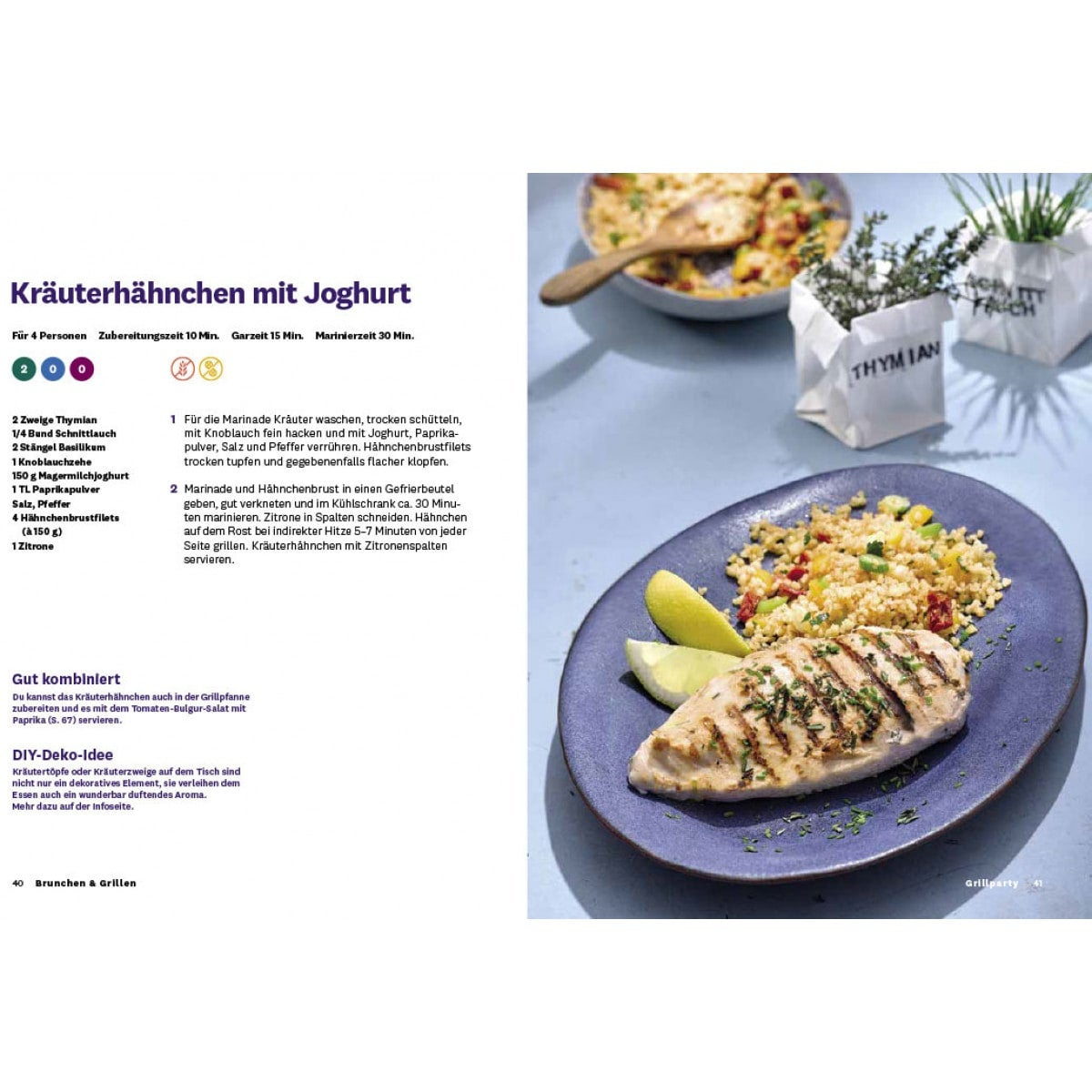 WW Kochbuch Brunchen & Grillen (40 Rezepte) 3