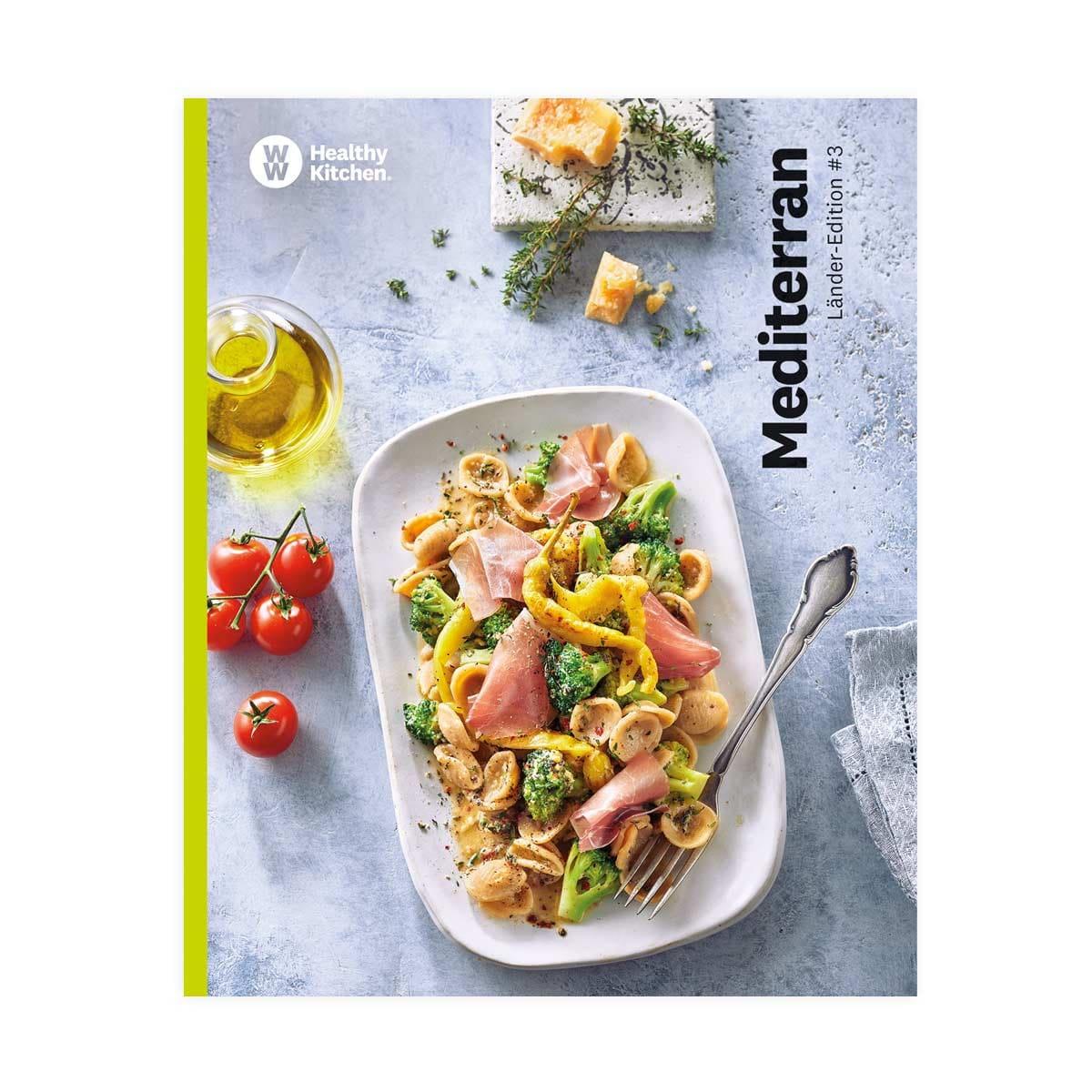 "WW Kochbuch ""Mediterran"", #3 Länder-Edition (22 Rezepte)"