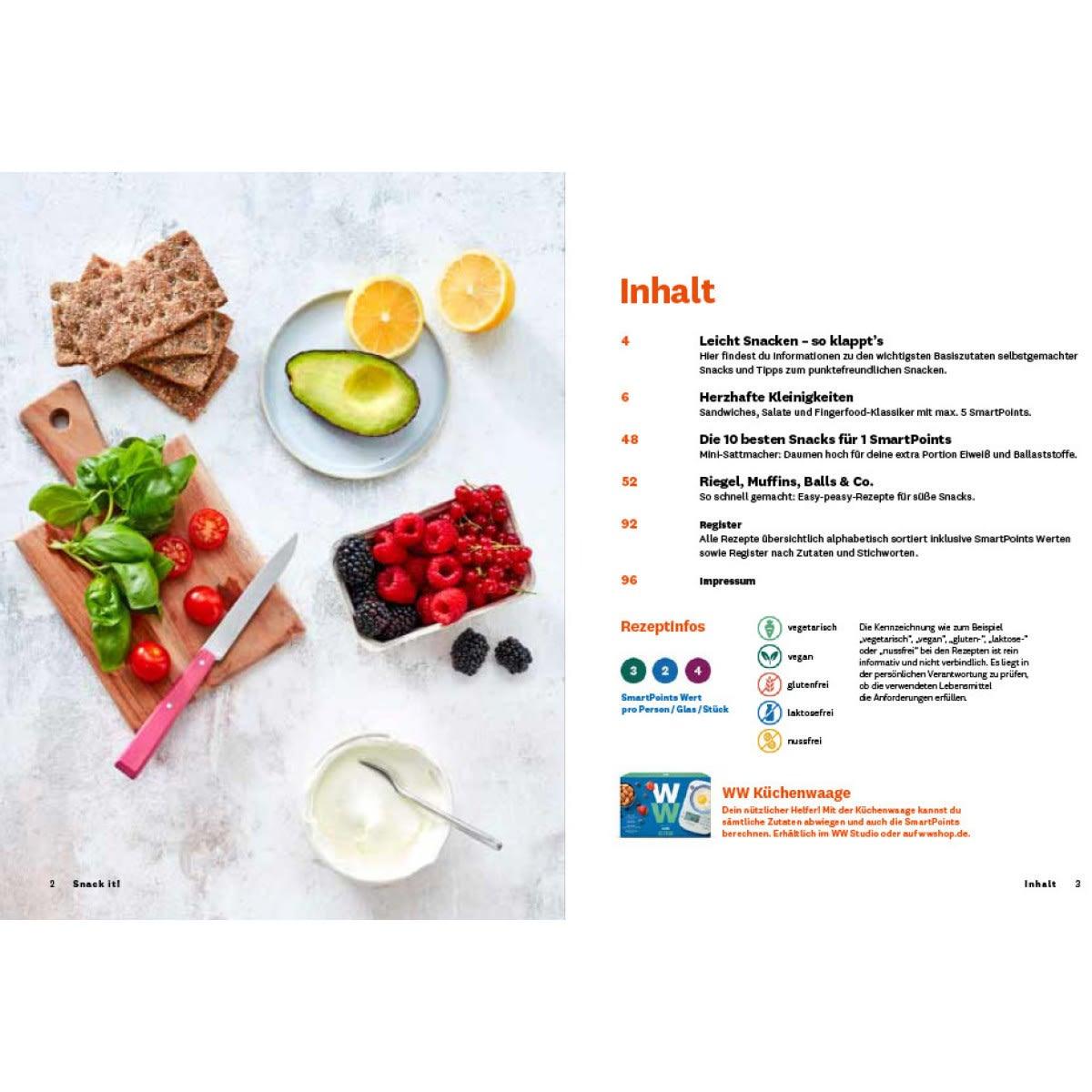 WW Kochbuch Snack Time (40 Rezepte) 4