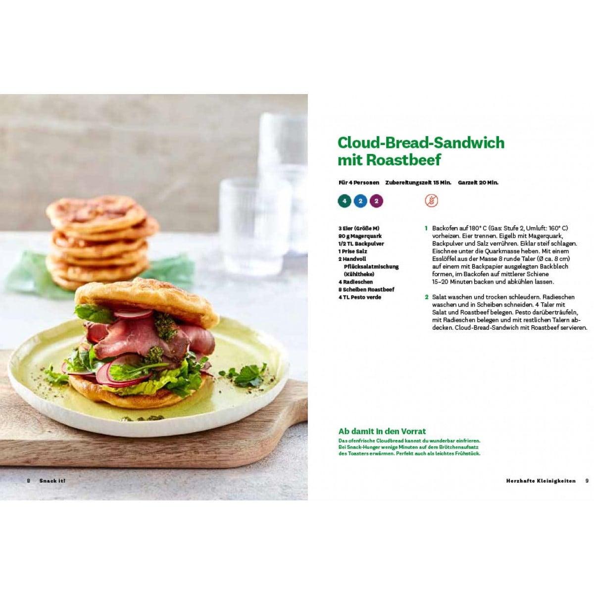 WW Kochbuch Snack Time (40 Rezepte) 3
